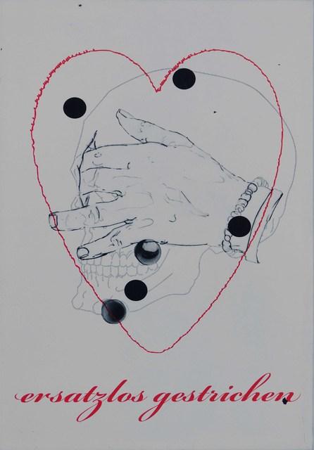 , 'Nur eins noch,' 2012, Mike Karstens Galerie
