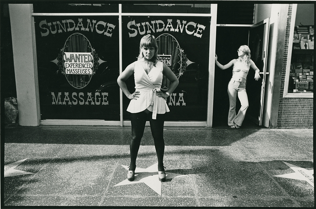 , 'Sundance Massage. Hollywood,' 1974, Richard Moore Photographs