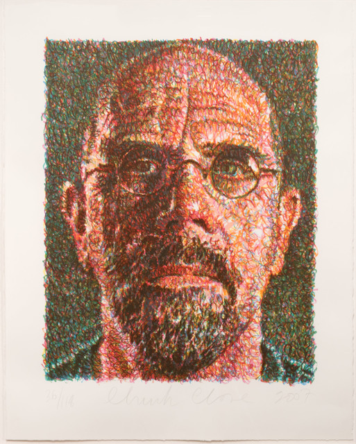 , 'Self-Portrait,' 2007, Leslie Sacks Gallery