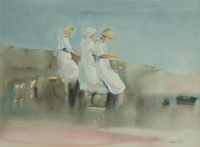 , 'Beach Scene XV,' 1980-1990, Galerie Bettina