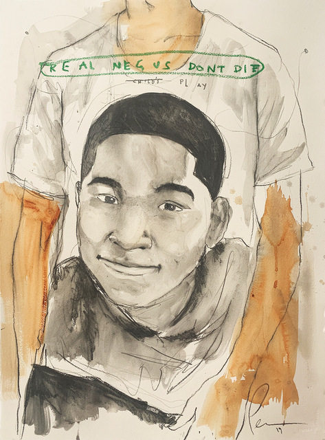 Fahamu Pecou, 'REAL NEGUS DON'T DIE: Child's Play (Tamir Rice)', 2019, Lyons Wier Gallery