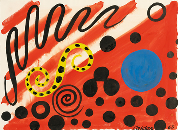 Alexander Calder, 'Spotted S,' 1963, Sotheby's: Contemporary Art Day Auction