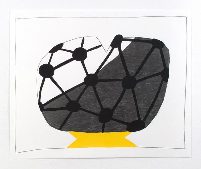 , 'Half Holes,' 2015, Denny Dimin Gallery