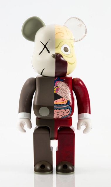 KAWS, 'Dissected Companion 400% and 100% (two works)', 2008, Other, Painted cast vinyl, Heritage Auctions