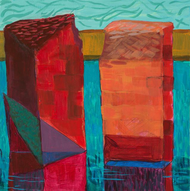 , 'Conversation,' 2018, Cerulean Arts