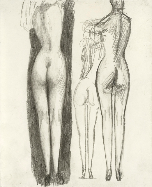 , 'Nudes from the Back,' ca. 1920, Galerie Bei Der Albertina Zetter