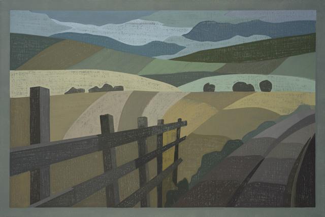 , 'Distant Landscape,' , Jonathan Cooper