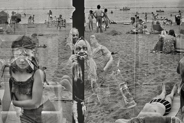 , 'Belgium, Hofstade. Carnival (superposition),' 1975, GALLERY FIFTY ONE