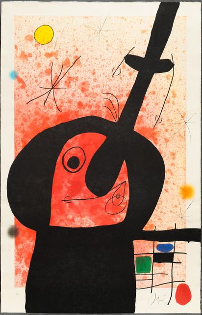 Joan Miró, 'LE PENSEUR PUISSANT (The Powerful Thinker)', 1969, Christopher-Clark Fine Art