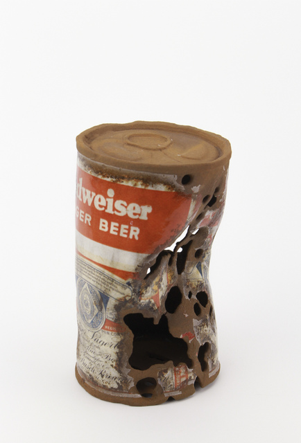 , 'Budweiser Can,' 2018, Eutectic Gallery