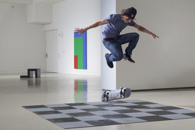 , 'Skateboarders v's Minimalism,' 2016, Analix Forever