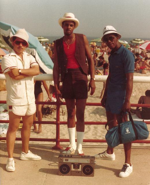 , '3 Males at the Beach,' 1980, Hardhitta Gallery