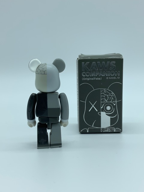 KAWS, 'KAWS Dissected Companion 100% (Grey)', 2010, Sculpture, Painted cast vinyl, DIGARD AUCTION