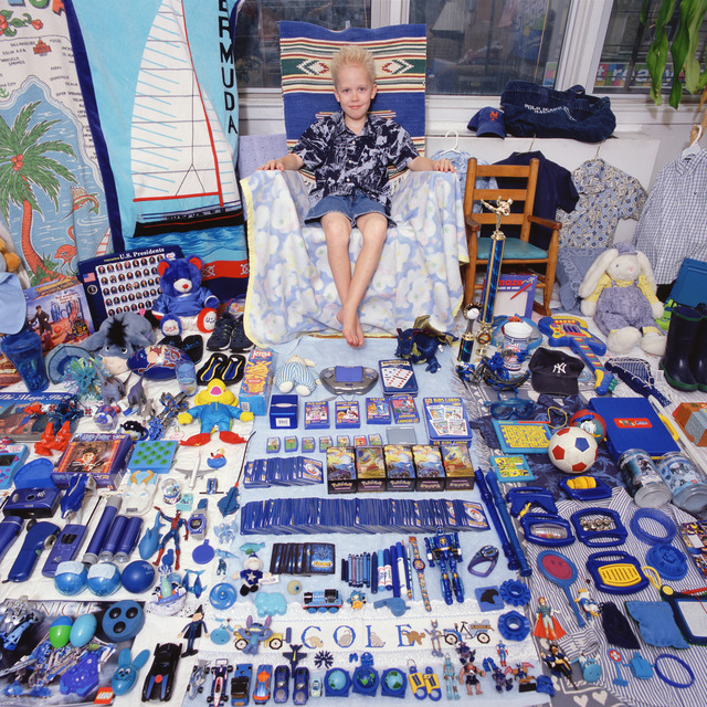 , 'Cole and His Blue Things,' 2006, Rosier Gallery