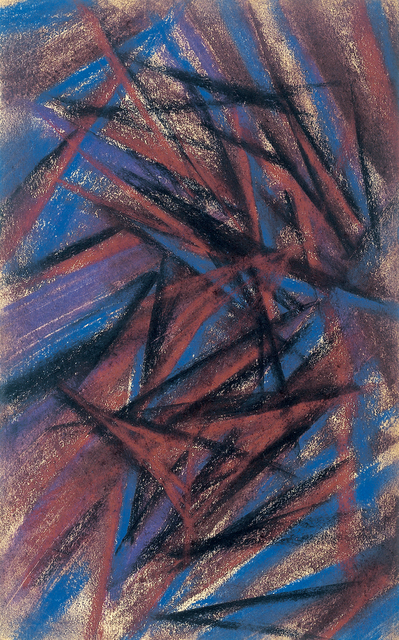 , 'Rayonist composition,' 1912-1914, Annely Juda Fine Art