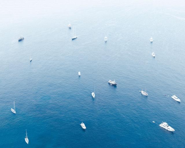 , 'Yachts, Cool Morning Light, Capri,' 2017, Ille Arts