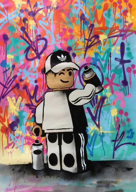 , 'Big Lego Graffiti,' 2017, ZK Gallery