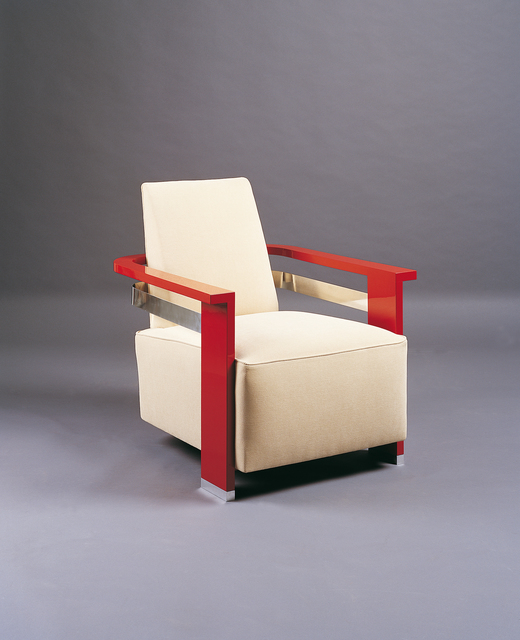 André Sornay, 'Pair of lacquered armchairs', ca. 1930, Galerie Alain Marcelpoil