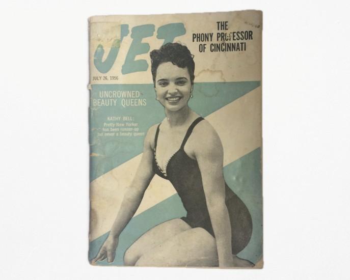 """Jet""-Issue from July 1956  Photo: Vaginal Davis, Courtesy: Johnson Publishing Company"
