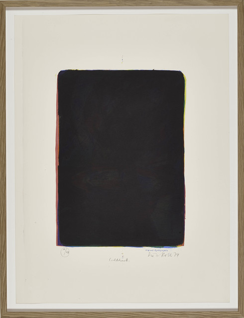 , 'Licht Druck (Light Print, part of 'Flower Piece'),' 1974, BERG Contemporary