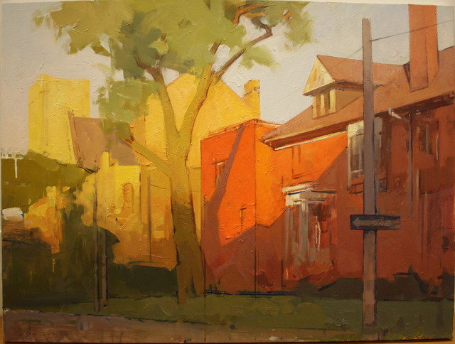 , 'Markham Street, Evening,' 2013, Julie M. Gallery