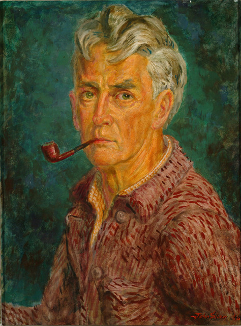 , 'Self-Portrait,' 1946, Delaware Art Museum