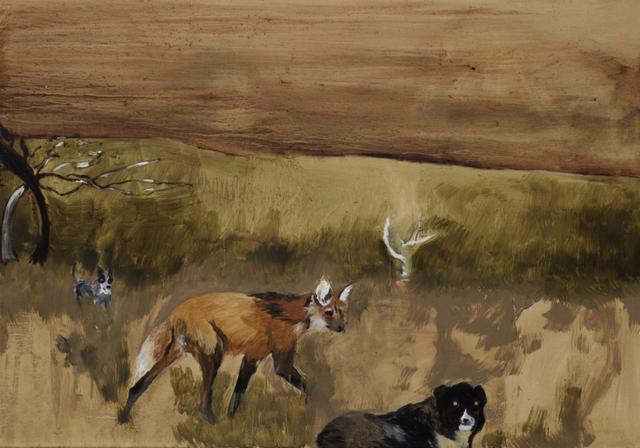 , 'Cachorros e Lobo-Guará,' 2018, Baró Galeria