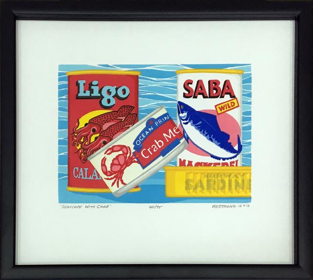 , 'Seascape with Crab,' 2016, 203 Fine Art