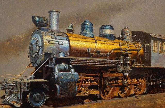 , 'Golden Train,' 2019, Somerville Manning Gallery