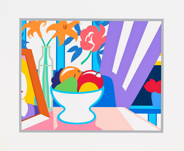 , 'Still life with lilies and mixed fruit,' 1997, Alan Cristea Gallery