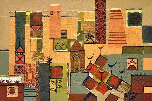 , 'Untitled 6,' 2015, Hafez Gallery
