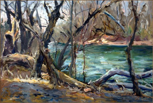 Raoul Middleman, 'Deer Creek, In Winter', 2005, C. Grimaldis Gallery