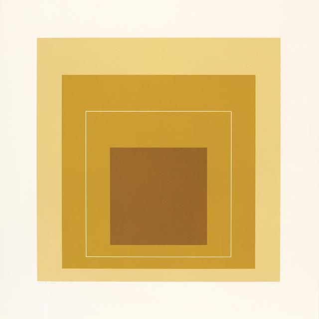 , 'WLS XIV (from White Line Squares,' 1966, Pilar Serra