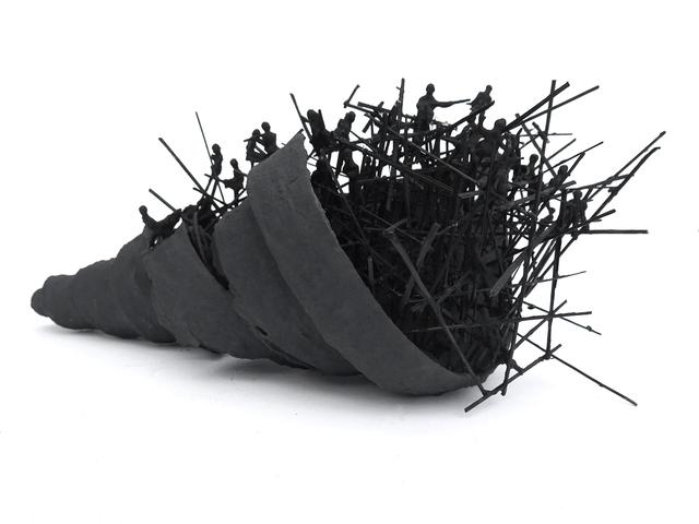 , 'The Black Tower,' 2016, Zilberman Gallery