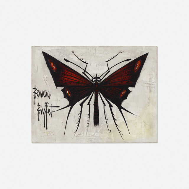Bernard Buffet, 'Butterfly', c. 1965, Wright
