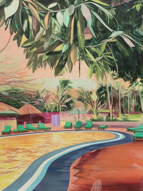 Lei Qi, 'Open air swimming pool', 2018, Matthew Liu Fine Arts