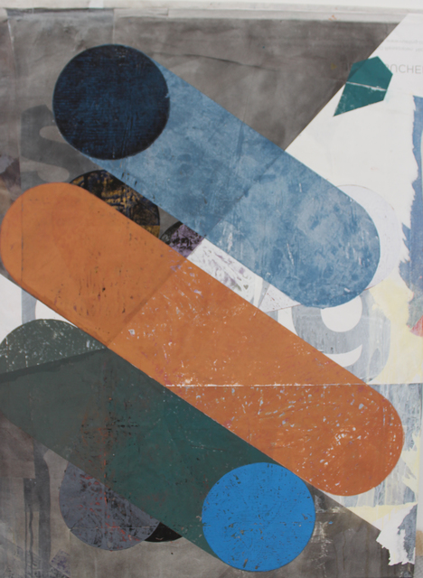 , 'o.T. (Der Kuchen ist alle),' 2018, Galerie Heike Strelow