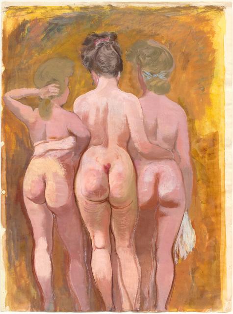 , 'Drei Grazien (Three Graces),' 1940, Hagemeier