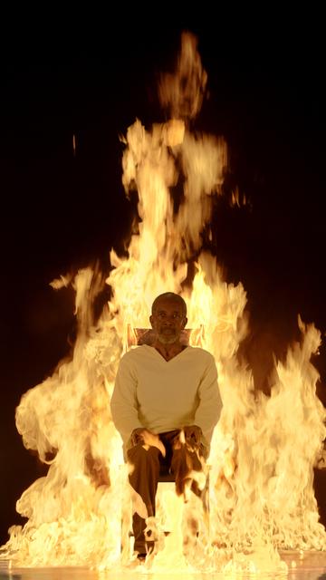 , 'Fire Martyr,' 2014, James Cohan