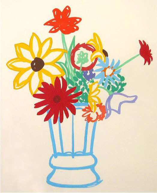 , 'Study for Wildflower Bouquet (D907),' 1990, Galerie Thomas
