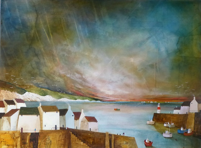 , 'Widemouth Bay,' 2017, Quantum Contemporary Art