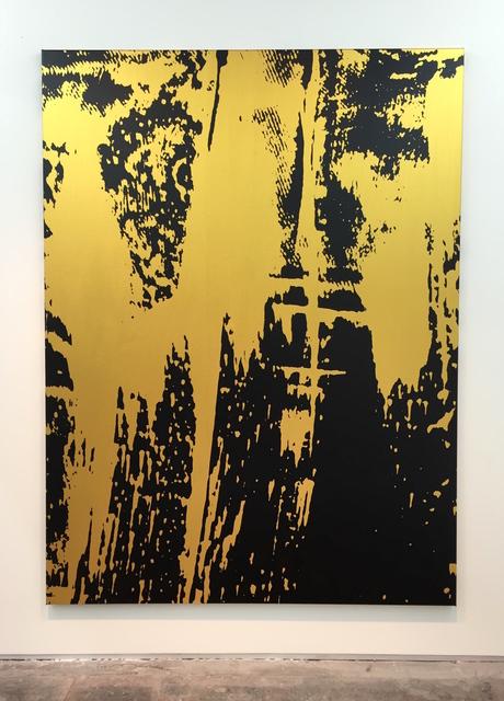 , 'Shake Down (gold),' 2015, Evelyn Yard