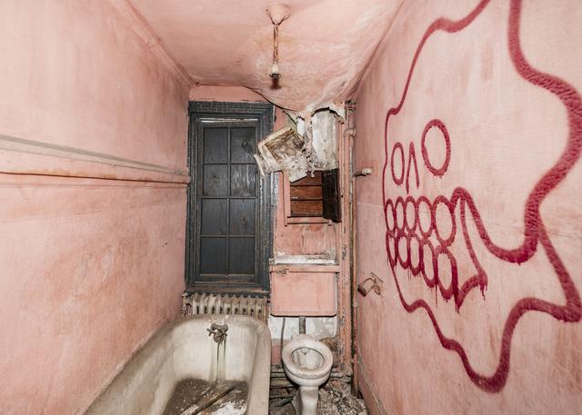 , 'Bathroom Skull (5th Street Victorian Series),' 2016, InLiquid