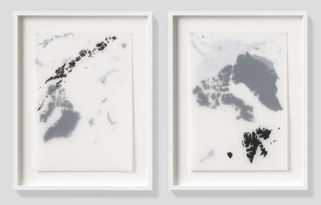 , 'Arctic Circle Islands,' 2014, Pippy Houldsworth Gallery