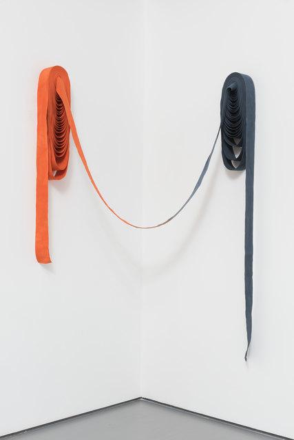 , 'Orange trifft Blau [Orange meets blue],' 2015, Pilar Corrias Gallery
