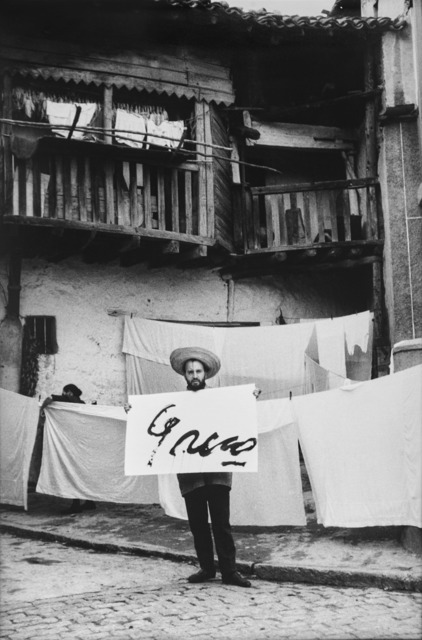 , 'Alberto Greco en Pidralaves,' 1963, Del Infinito