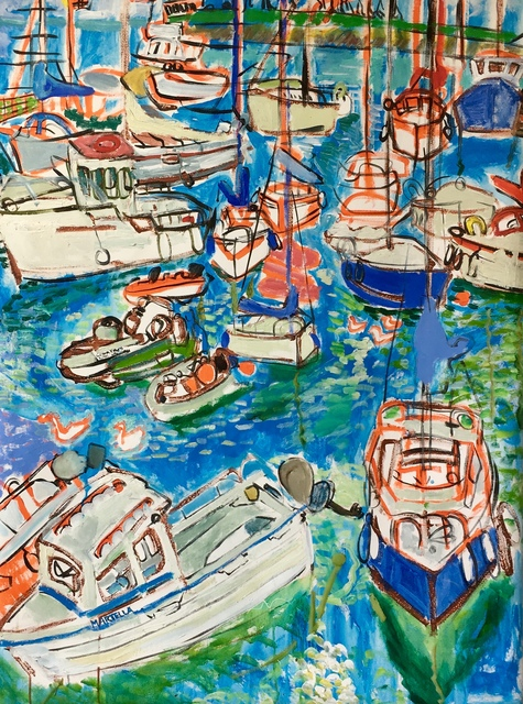 , 'Boats in Courtown ,' 2011, Maison Depoivre