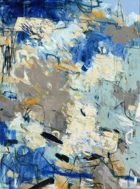 , 'Little Blue,' , Chicago Art Source