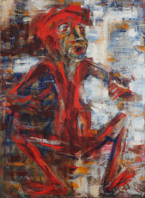 , 'Das rote Männchen,' 1928, Galerie Utermann