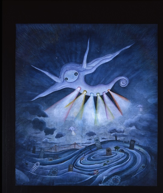 , 'It's Your Friendly UFO!,' 2009, Seattle Art Museum